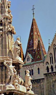 Knitted Rooftops - Budapest, Hungary