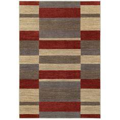Oriental Weavers of America Cosmopolitan Red Rectangular Indoor Tufted Area Rug (Common: 9 x 12; Actual: 9.33-ft W x 11.83-ft L)