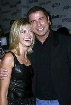 Olivia Newton-John and John Travolta