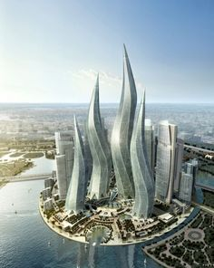 The Dubai Towers A Province Of United Arab Emirates Has Been Described As Ideal Dream World Neo Liberalism Place Where Capitalism