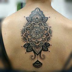 Henna style mandala.
