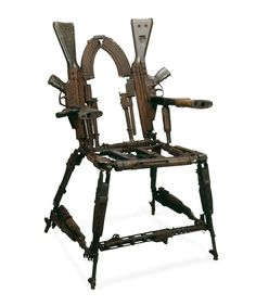 Throne of Weapons (2001) by Kester.....this seems violent lol