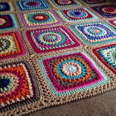 BabyLove Brand Textured Circles Blanket by BabyLoveBrandKids