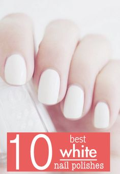 Best white nail polishes