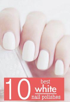 Best white nail polishes