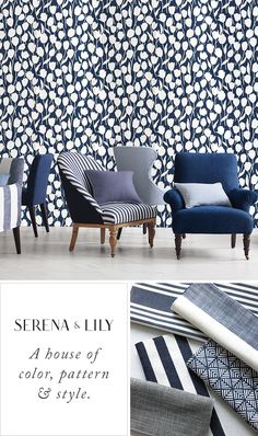 Design with confidence. Transform your home with our newly edited collection of fine furniture and fabrics for indoors and out.