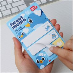 'Tweet' post-it notes!! (a little more fun than your usual sticky notes..? :P)