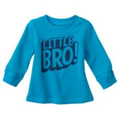 Give him a cute look for all-day wear with this boys' Jumping Beans graphic thermal tee. Family Tees, Jumping Beans, Baby Boy, Sweatshirts, Boys, Cute, Sweaters, How To Wear, Fashion
