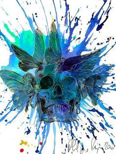 7083e6fefc 196 365(3) by Philippe Pasqua Bird Skull
