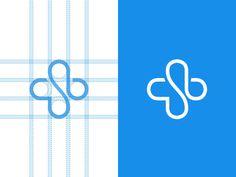 Branding, Logos and graphic update 2014 on Behance Pharmacy Design, Medical Design, Logo Branding, Branding Design, Brand Identity, Logo Hospital, Clinic Logo, Church Logo, Monogram
