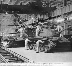 Discuss Detroit: Old Car Factories - 17 Aircraft Engine, Ww2 Tanks, World Of Tanks, American War, Bahn, Tiger, Armored Vehicles, War Machine, Cold War