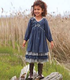 sweet blues dress from Chasing Fireflies