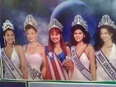 iLas Bellezas de ☀Puerto Rico☀ 1-Marisol Malaret ; 2-Deborah Carthy, 3-Dayanara Torres, 4-Denise M. Quiñones, 5-Zuleyka Rivera.