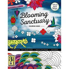 Retreat to your personal sanctuary with this wonderful coloring book.C & T Publishing-Blooming Sanctuary Coloring Book