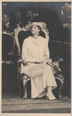 Queen Astrid of Belgium.