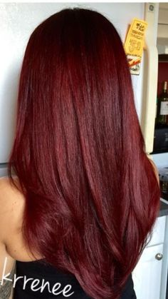 Hair Color And Cut, Cool Hair Color, Deep Red Hair Color, Hair Colour, Dark Red Hair, Burgundy Hair, Pelo Color Vino, Red Hair Inspo, Wine Hair