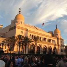 The Shrine Auditorium in Los Angeles, site of the Stand Up To Cancer telecast and fun after-party.
