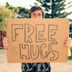 Hey Liam! Can I have a hug?