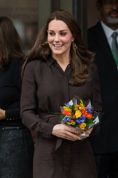 Pin for Later: Kate Middleton's Baby Bump Is More Visible Than Ever