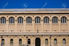 Picture of Front of the Bibliotheque Saint Genevieve in Paris showing many windows stock photo, images and stock photography. St Genevieve, Paris Shows, Banner Printing, Facebook Image, Music Files, Single Image, Image Photography, Indoor Outdoor, Image Search