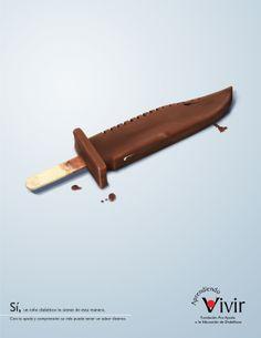 Le diabète des enfants ... une arme blanche (alors que le magnum de chocolat devrait procurer tellement de plaisir.)