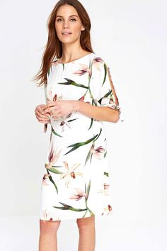 aa448a3087a7 Ivory Bird Of Paradise Tunic Dress - Dresses