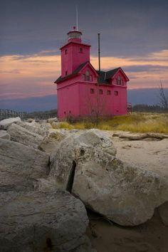 Lighthouse of Chesapeake Bay, Maryland.