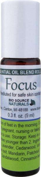 Focus ™ Essential Oil Blend Roll On helps to balance the mind.  #aromatherapy