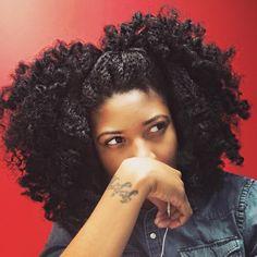 Jori @jori.chioma wearing a Chunky Twistout hairstyle