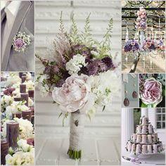 Dusty Purple Wedding
