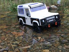 RC Defender  ride in water