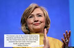 On Hillary Clinton's Birthday, Here Are 7 Awesome Things She Said This Year