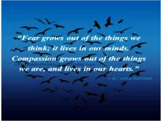 Fear and compassion