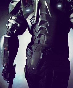 S.H.I.E.L.D. Strike Team powered armor exo-frame,  a wearable mobile machine powered by a combination of technologies that allow for increased strength, movement, and endurance.