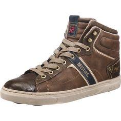 #MUSTANG #Herren #Sneakers #braun Mit vielseitig gestalteter…
