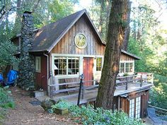 Maybe the best trip we have ever done with others - Russian River Valley with Tom and John - in this enchanted cottage.