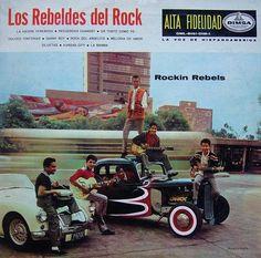 Los Rebeldes del Rock LP Dimsa (México)