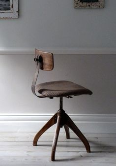1930's Bauhaus Oak Architects Industrial Chair by OrmstonSaintUK, £295.00