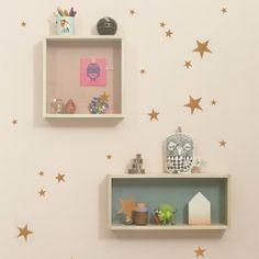 Leuke muursticker Mini Stars Koper van het merk Ferm Living. ♥