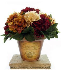 Autumn Hydrangea 14in Clay Pot is on Rue. Shop it now.