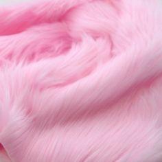 Pawstar Monster Fur Yardage Baby Pink Pastel Light Faux