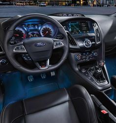 Feel Like Your In A Race Car With The Racing Inspire Interior Ford Focus