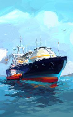 Viktor Miller-Gausa  Rosneft, annual report 2012 on Behance