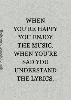A TRUE AND BEAUTIFUL WAY TO DESCRIBE MUSIC