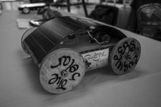 A solar powered remote control car made in my college as a project.