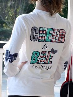cheer is bae persontoo busy being cheerleader