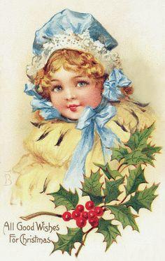 Детский портрет.  Frances Brundage.