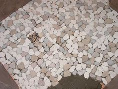 How to Lay a Pebble-Tile Floor | Mud rooms, Pebble tiles and Room