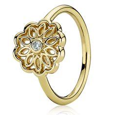 15 Best Pandora Gold Rings Images On Pinterest Pandora Rings