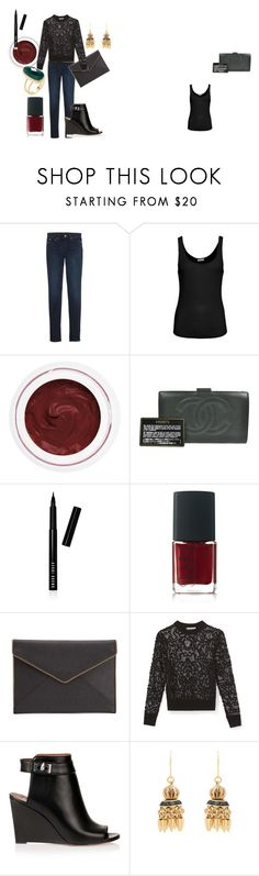 """""""Rebecca Minkoff for the holidays"""" by pia-soy on Polyvore featuring Point Sur, American Vintage, rms beauty, Chanel, Bobbi Brown Cosmetics, NARS Cosmetics, Rebecca Minkoff, Givenchy, Elizabeth Cole and Rivka Friedman"""